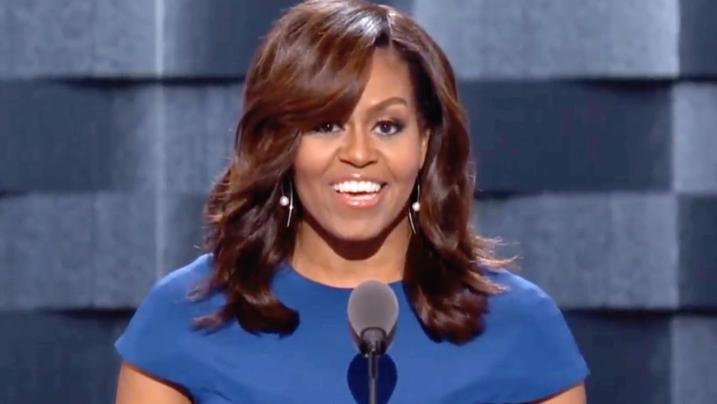 Michelle Obama could become the Democratic Party frontrunner if she enters the race