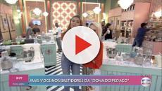Ana Maria Braga aparece nas filmagens do 'Best Cake', reality show de 'A Dona do Pedaço'