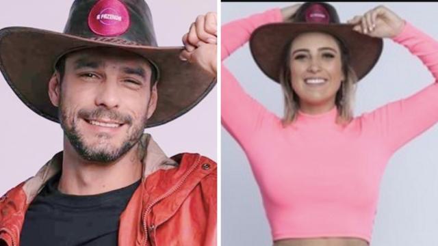 'A Fazenda': enquete UOL mostra sutil vantagem na disputa entre Diego e Tati Dias