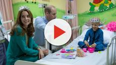 Kate Middleton dons tiara with young cancer patient in Pakistan