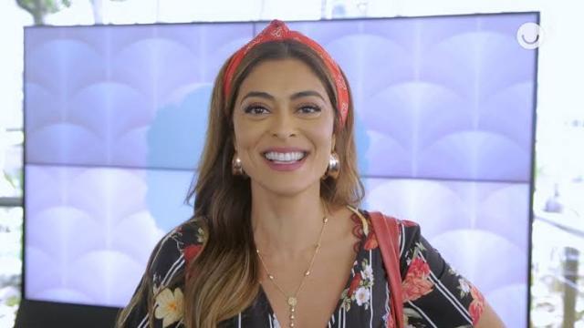 Atriz Juliana Paes se explica após sua personagem soltar um palavrão