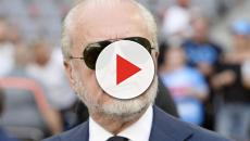 Napoli, De Laurentiis: 'Difficile competere con Inter e Juventus che si indebitano'