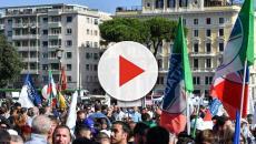 Chef Rubio offende i manifestanti scesi in piazza San Giovanni per il Centro Destra