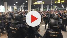 Continuano le proteste a Barcellona
