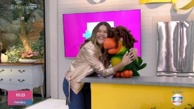 Ana Maria Braga recebe Maisa em seu programa e chacoalha a web