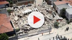Bombeiros resgatam corpo de última vítima da queda de edifício