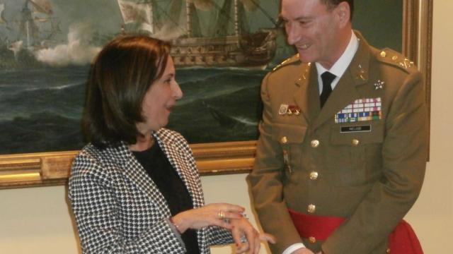 El general Luis Martínez Meijide es el nuevo jefe de la UME
