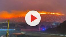 California wildfires: blazes ravage as 2 million face looming blackouts