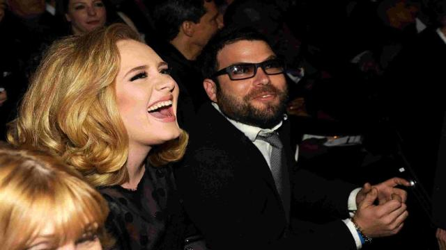 Adele debuts stunning new look at Drake's birthday party