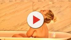 Paula von Sperling, vencedora do 'BBB19', posta foto no Instagram nua na banheira