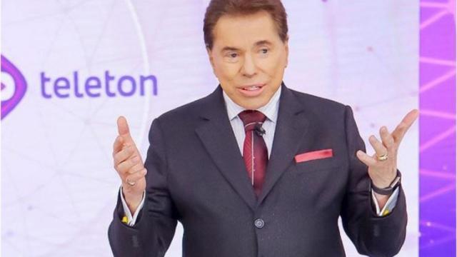 Silvio Santos ainda não tem data para voltar as gravações no SBT