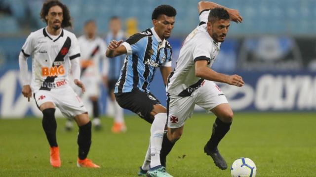 Vasco x Grêmio: onde assistir ao vivo e escalações das equipes