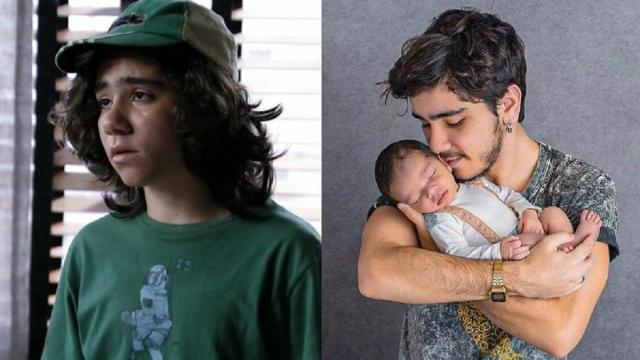 Picolé de 'Avenida Brasil' atualmente já é pai aos 20 anos