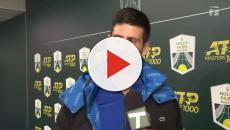 Novak Djokovic says he's fighting a virus at the Paris Masters