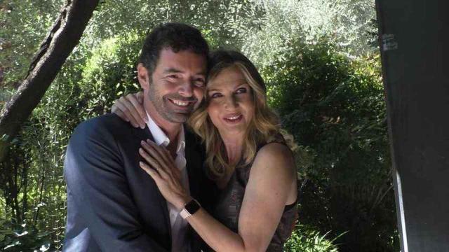Alberto Matano stuzzica Lorella Cuccarini a 'La Vita in Diretta'