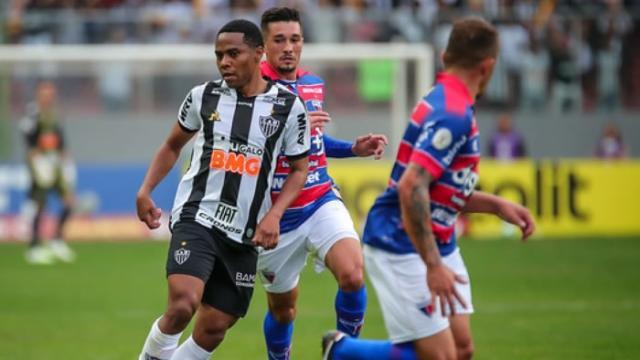 Fortaleza x Atlético MG: onde ver ao vivo, escalações e arbitragem