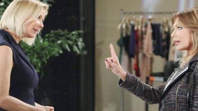 Beautiful spoiler 8 novembre: Taylor crolla davanti a Brooke e la prega di non denunciarla