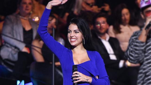 Georgina Rodriguez gritó el nombre de Rosalía en los MTV EMAs 2019 y desafinó con un gallo