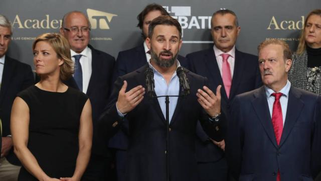 Santiago Abascal da el triunfo a Vox en el debate para las elecciones del 10N