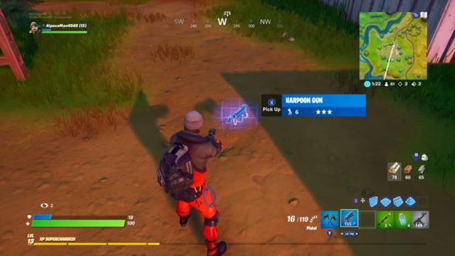 Epic Games finally brings a Harpoon Gun to 'Fortnite'