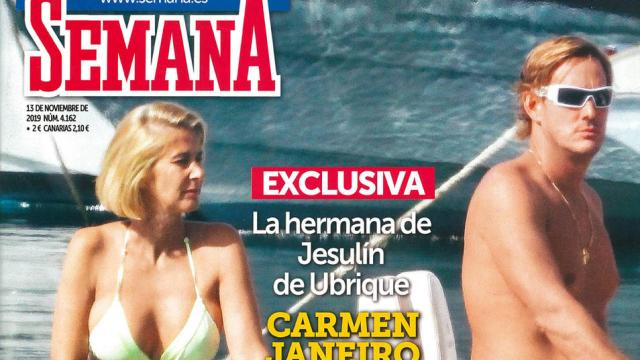Semana publica que Carmen Janeiro sale con un hijo de la familia Masaveu