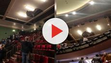 'Death of a Salesman' halted when ceiling collapses in Piccadilly theatre
