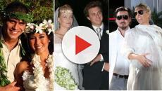 6 famosas que se casaram grávidas