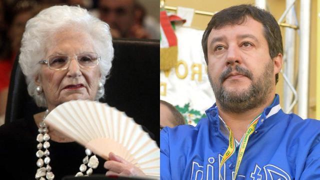 Liliana Segre sotto scorta dopo le minacce, Salvini: 'Grave. Anche io ne ricevo'