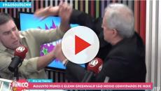 Augusto Nunes agride Glenn Greenwald após ser chamado de 'covarde'