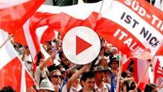 Partito sudtirolese diffonde cartelloni contro medici italiani