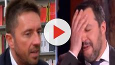 Otto e mezzo, Scanzi contro Salvini: 'A malapena sopravvive alle sciocchezze che dice'
