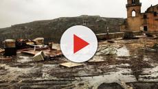 Matera, alluvione in città e sui celebri Sassi: raffiche di vento fino a 150 km/h
