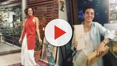 A atriz Camila Pitanga apresenta sua namorada a artesã Beatriz Coelho