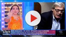 LIVE, Vittorio Sgarbi contro Barbara D'Urso: 'Sei un'indemoniata, stai sput*** la Chiesa'