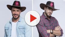 'A Fazenda': enquete UOL mostra vantagem de Lucas sobre Guilherme na roça