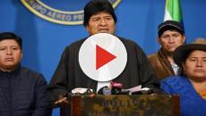 Evo Morales recibe muestras de apyo de la comunidad internacional salvo de Trump