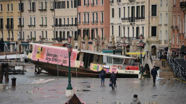 Italy's Venice flooded by highest tide in 50 years