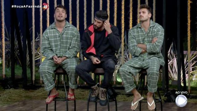 Lucas, Diego e Guilherme disputarão a prova do Fazendeiro