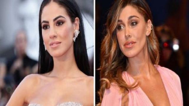 Belen Rodriguez mette un 'like' al post di presa in giro a Giulia De Lellis