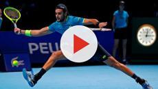 Matteo Berrettini è il primo italiano a vincere un match di singolare alle Atp Finals