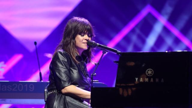 En una gala con la ausencia de Rosalía, Vanesa Martín recoge su Premio Ondas de la Música