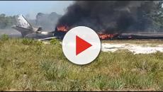 Piloto de Stock Car Tuka Rocha tem 80% do corpo queimado após queda de avião