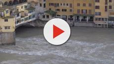 Maltempo in Italia,17 novembre: Venezia con l'acqua alta, Firenze con l'Arno in piena