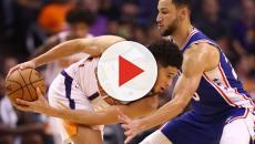 Phoenix Suns vencem Philadelphia 76ers por 114 a 109 pela NBA