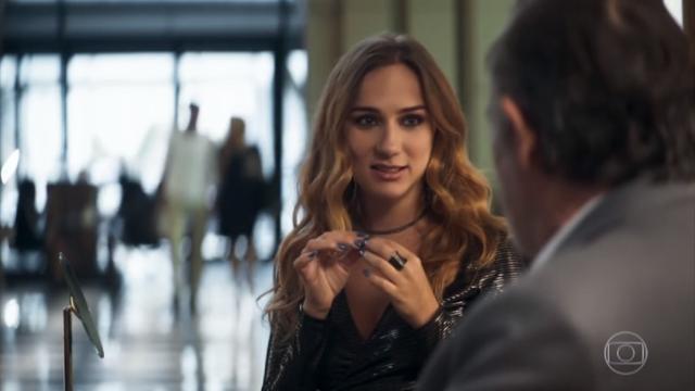 'A Dona do Pedaço': Otávio pega Sabrina no flagra com amante