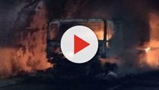 Savona, Tir si incendia in una galleria sull'A10: 32 persone intossicate