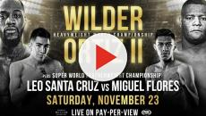 Boxe: sabato 23 novembre, Las Vegas, Wilder VS Ortiz per la rivincita mondiale