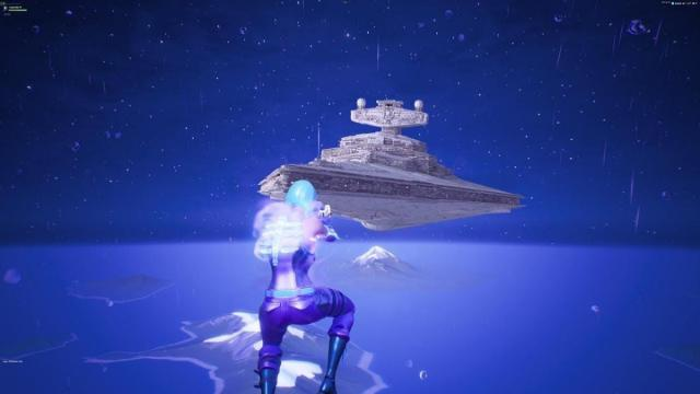 'Fortnite' brings Star Destroyer to the battle royale map