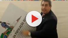 Deputado coronel Tadeu comete ato de vandalismo no dia da consciência negra