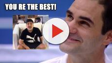 Maradona, videomessaggio a Federer: 'Sarai sempre il più grande'